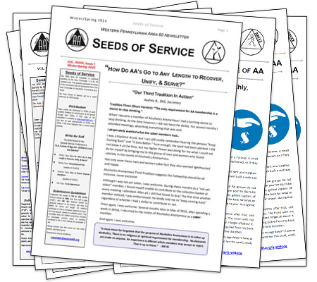 Signup for the Seeds of Service